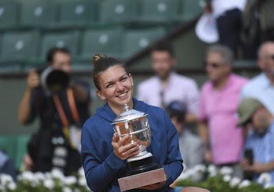 Lleyton Hewitt vergezelt Simona Halep op training in aanloop naar Wimbledon