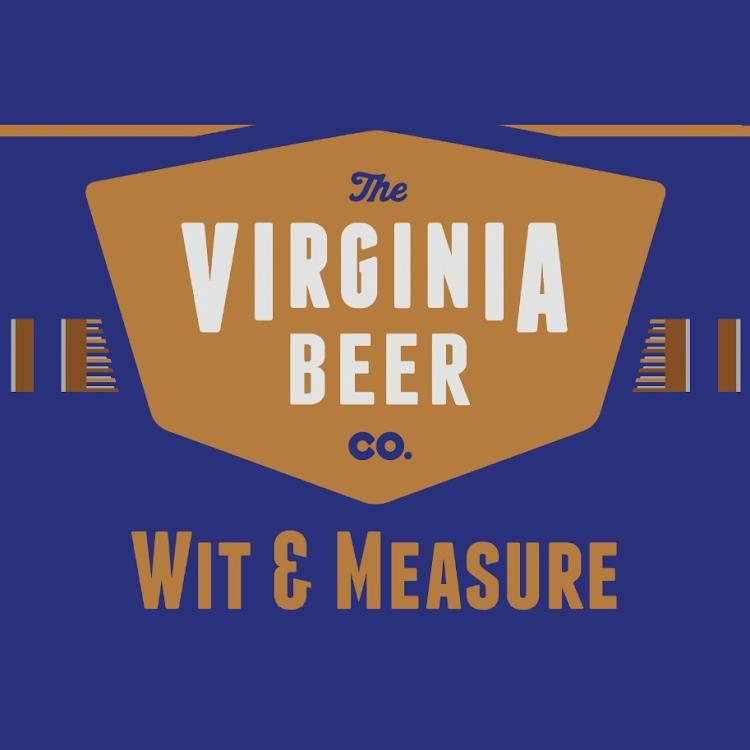 Logo of Virginia Beer Co. Wit & Measure