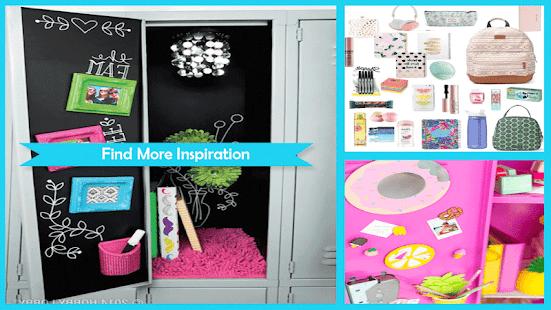 simple diy locker decoration ideas screenshot thumbnail - Locker Designs Ideas