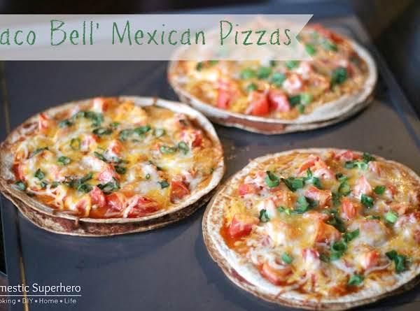 Copycat Taco Bell Mexican Pizzas Recipe