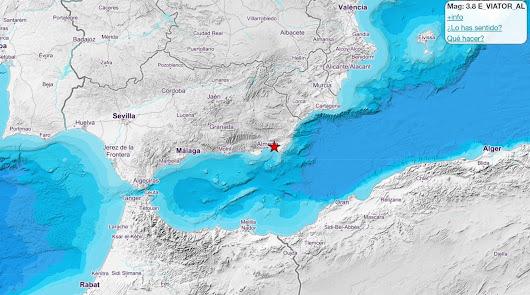 Almería tiembla con un terremoto de 3,9 grados