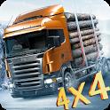 Cargo Truck 4x4 Hill Transporter icon