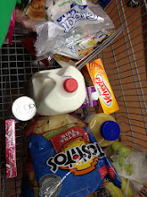 Photo: Our cart full of goodies!