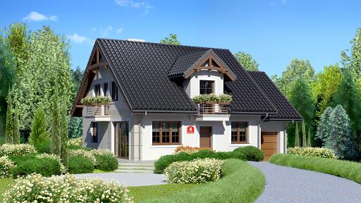 projekt Dom przy Wiosennej 4