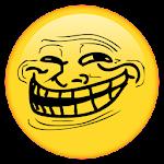 Rage Face Emoji Sticker For WhatsApp Icon