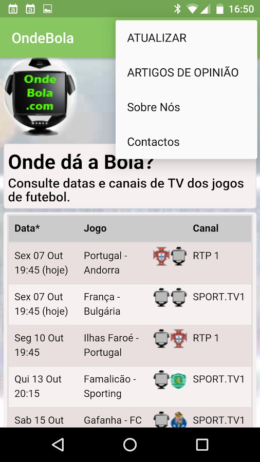 Onde Bola- screenshot
