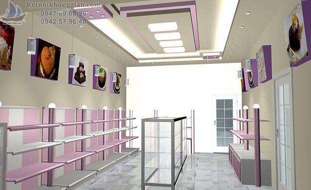 thiết kế nội thất shop
