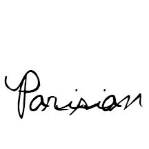 """How to be a Parisian"""