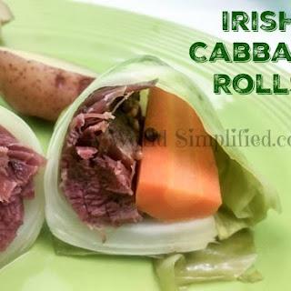 Irish Cabbage Rolls.