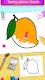 screenshot of Fruits Coloring Book & Drawing Book