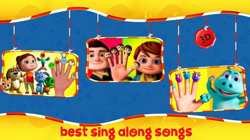 Finger Family Nursery Rhymes and Songs - screenshot