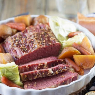 Slow Cooker Guinness Corned Beef.