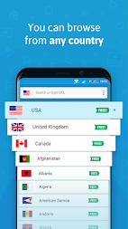 Hola Free VPN Proxy APK screenshot thumbnail 3