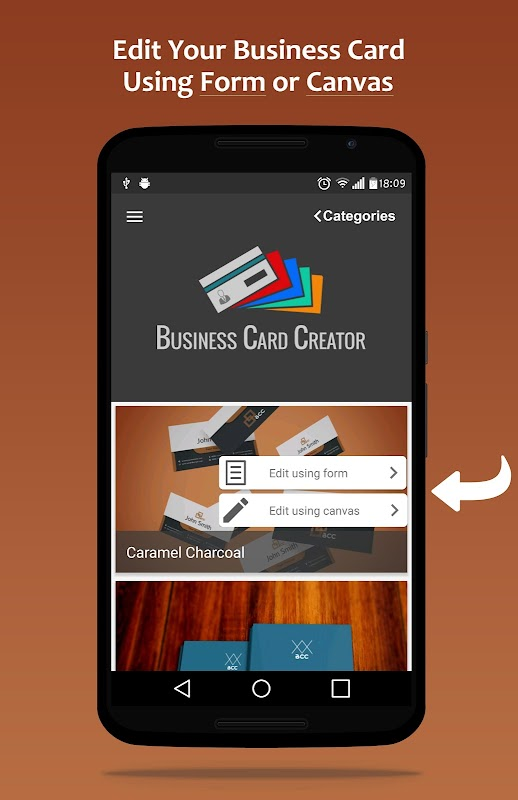 Bcc business card creator apk 109 download free business apk bcc business card creator apk reheart Choice Image