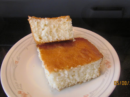 Bea's Homemade White Cake Recipe