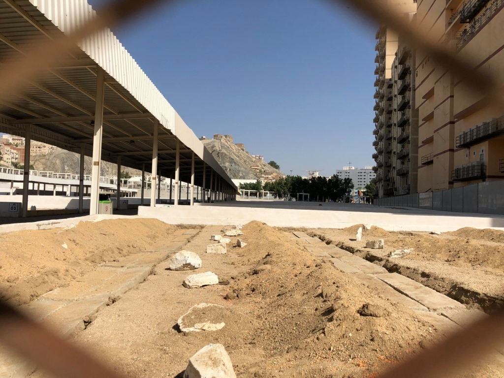 Jannat Al Muallaa Cemetery in Mecca, Saudi Arabia