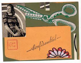Photo: Wenchkin's Mail Art 366 - Day 256 - Card 256a