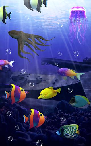 Aquarium Free Live Wallpaper Apk ~ wall aquarium ideas