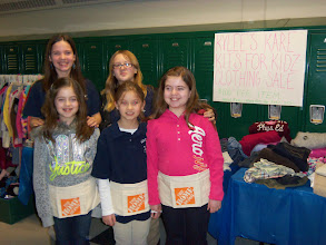 Photo: Clothing Drive at the Sky View Winter Carnival on January 26, 2013.
