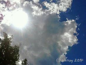 Photo: Grateful for sun, sky, clouds.