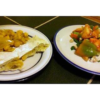 Greek Potato and Chickpea Salad