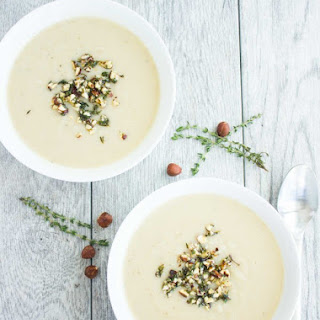 Cauliflower Hazelnut Pear Soup Recipe