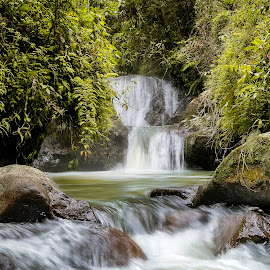 Once Upon in Coffee Region  by Andrius La Rotta Esquivel - Landscapes Waterscapes ( landscape photography, waterscape, waterfall, photo, photography, landscape, colombia )