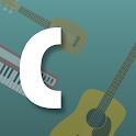 Chordify - Guitar, Ukulele and Piano Chords icon