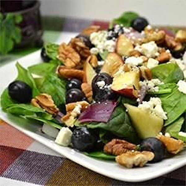 Blueberry Walnut Salad Recipe