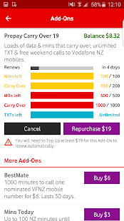 My Vodafone New Zealand- screenshot thumbnail