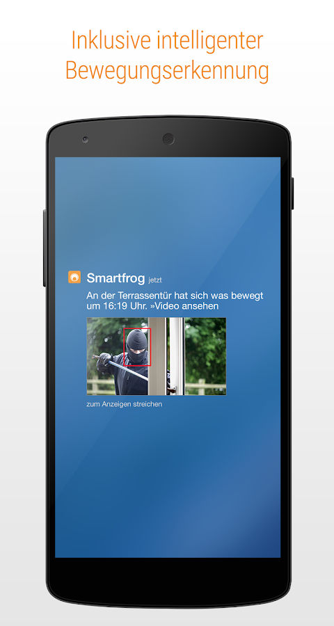 smartfrog kamera babymonitor android apps auf google play. Black Bedroom Furniture Sets. Home Design Ideas