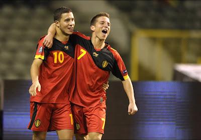 🎥 Souvenir: le premier but d'Eden Hazard avec les Diables Rouges