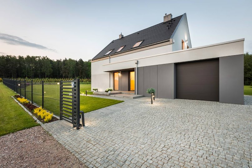 Ogrodzenie z paneli ogrodzeniowych