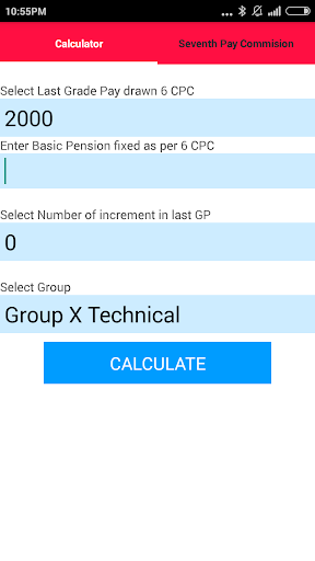 Defence OROP Calculator 7 CPC