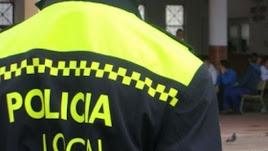 Imagen de archivo de un policía local.