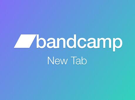 Bandcamp New Tab