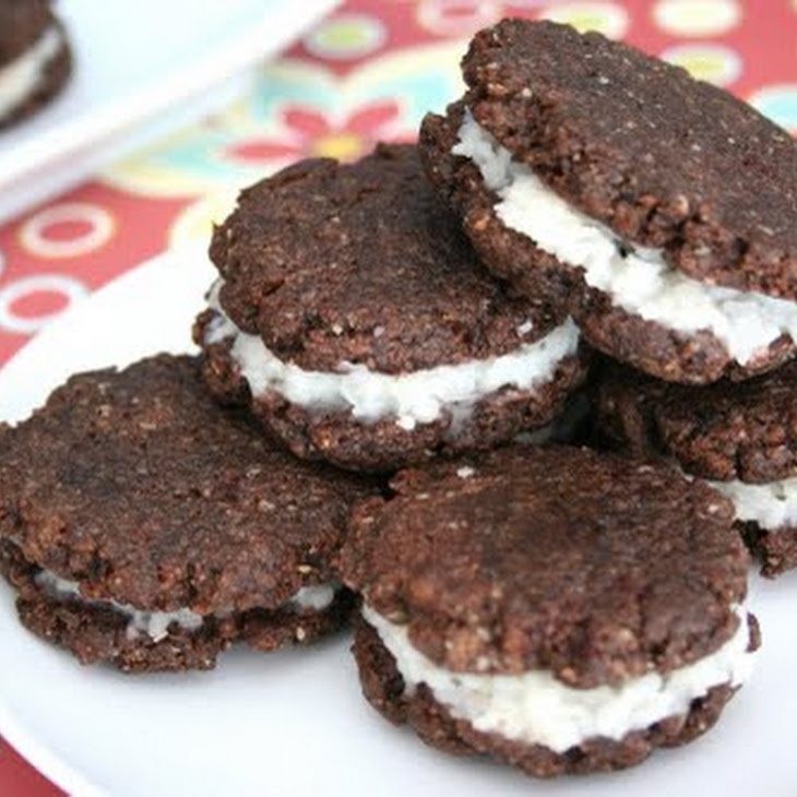 Coconut Cream Sandwich Cookies Recipe | Yummly
