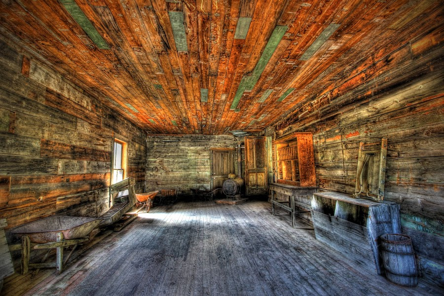 General Store by Eric Demattos - Buildings & Architecture Decaying & Abandoned ( montana, ghost town, abandoned )
