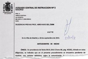 Официальный отказ испанской прокуратуры передать дело «русской мафии»