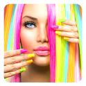 Colorer vos cheveux icon