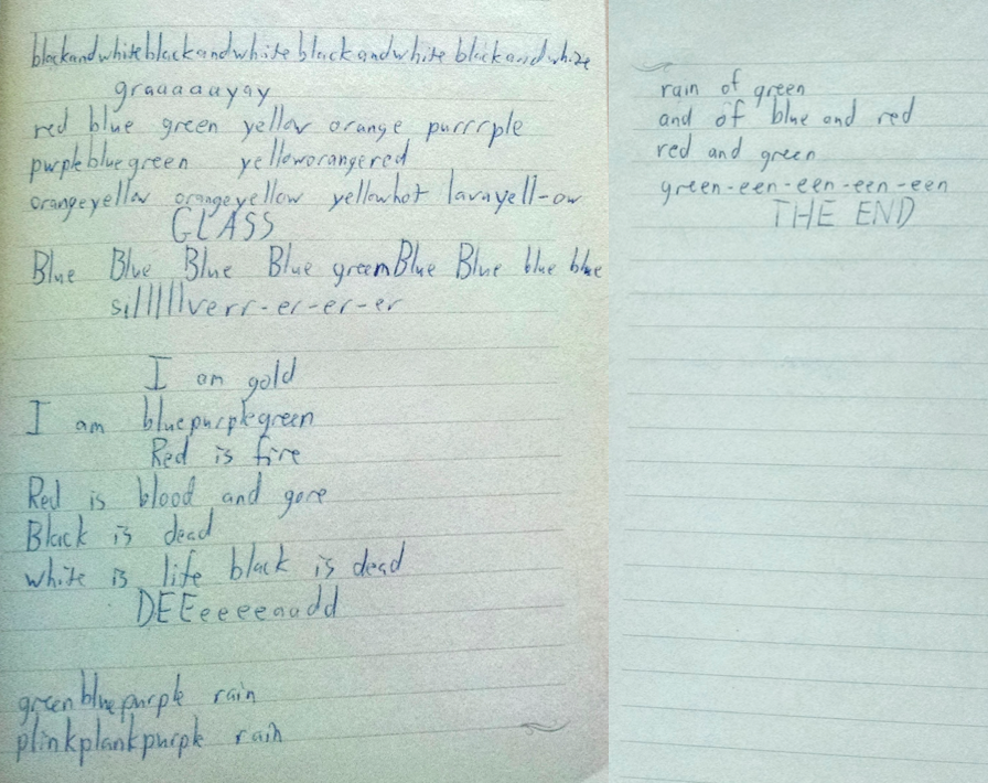 experimental poem