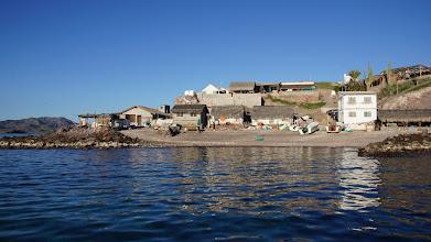 Photo: Visit to Isla El Pardito historic village