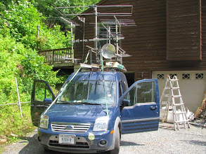 Photo: N3UW Rover used by K8GP / Rover - ARRL June VHF 2014 - Sat. morning