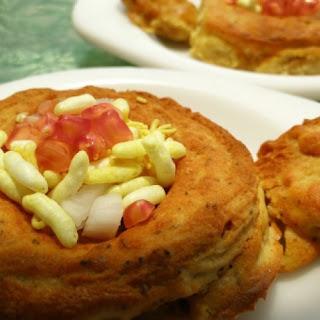 Dal Double Decker/ Moong Dal Bread Pakora