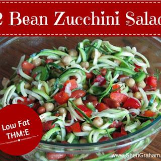 2 Bean Zucchini Salad