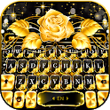 Gold Rose Lux Keyboard Theme icon