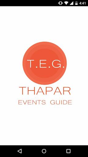 Thapar Events Guide