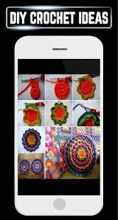 DIY Crochet Home Craft Designs Ideas Tips Gallery - náhled