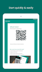 Tablet for WhatsApp by WhatsTablet APK screenshot thumbnail 1