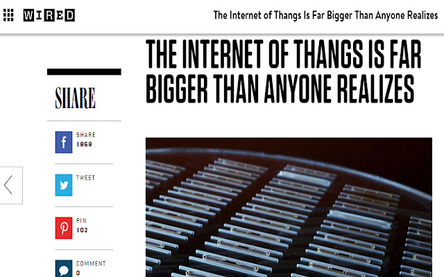Internet of Things to Internet of Thangs